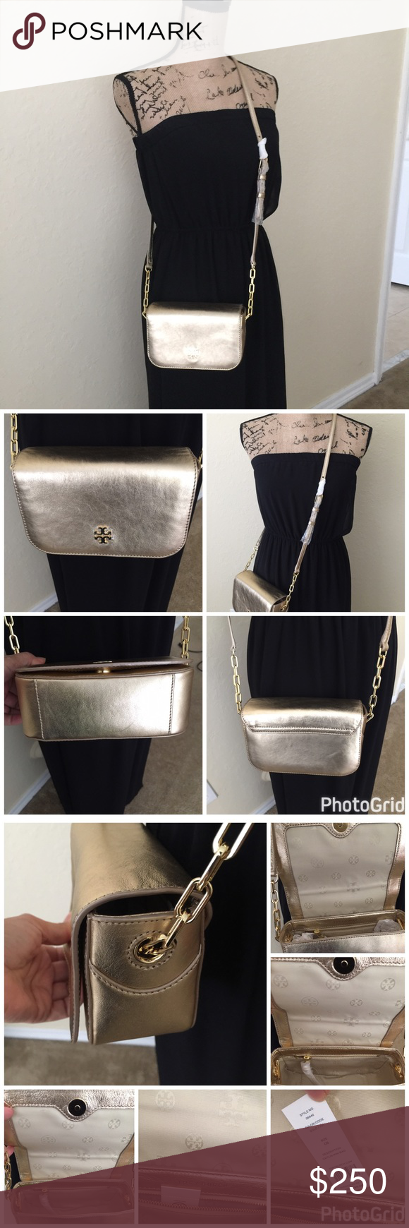 2128be5e40c3 Toy Butch Caitlin Mini Crossbody bag. New with tags Tory Burch Caitlin mini  crossbody in