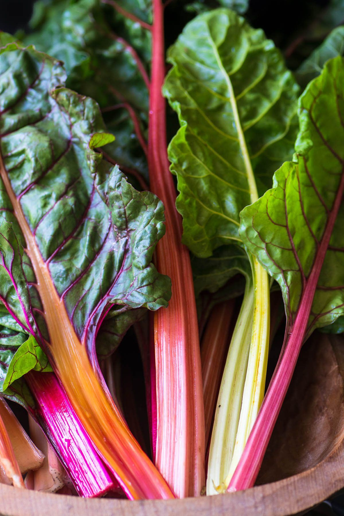 Rainbow Chard Salad Healthy Vibrant And Delicious This Salad Is Gluten Free Low Carb Whole 30 Paleo An Rainbow Chard Recipes Rainbow Chard Vegetables