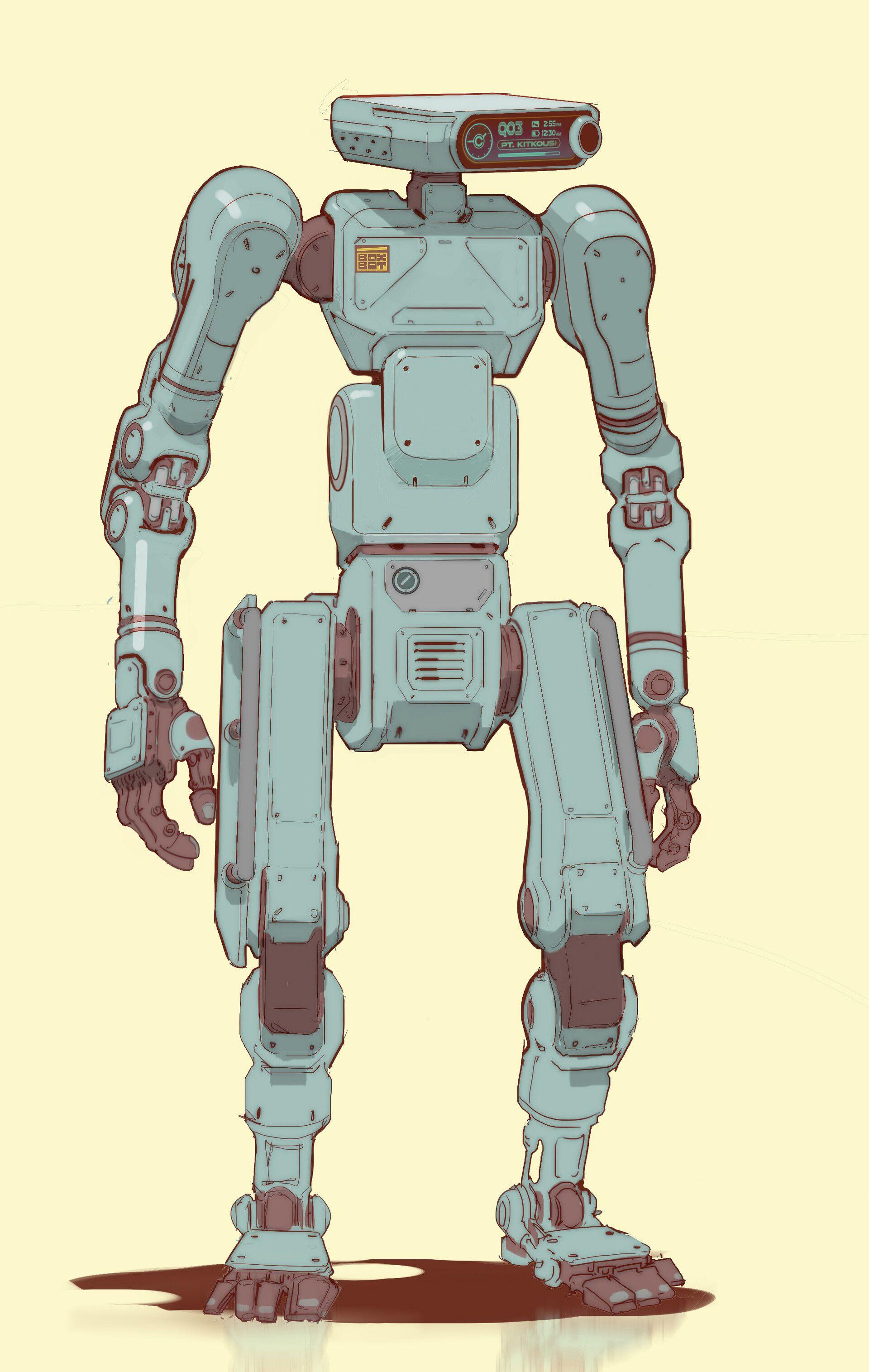 robot de semnal Aleea