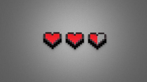 21 Beautiful Minimalist Desktop Wallpapers 4k Hongkiat Minimalist Wallpaper Pixel Heart Art Wallpaper