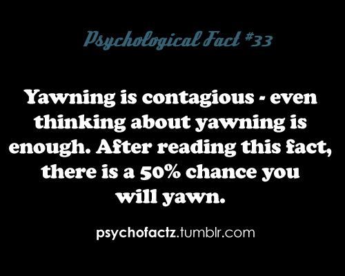 haha hope you yawned
