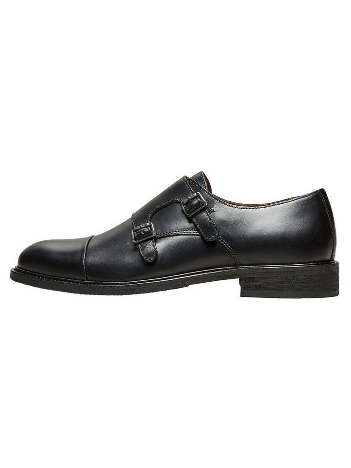 separation shoes 24971 981ad Selected Homme Leder Schuhe | Fashion_Sept_01 | Monk schuhe ...