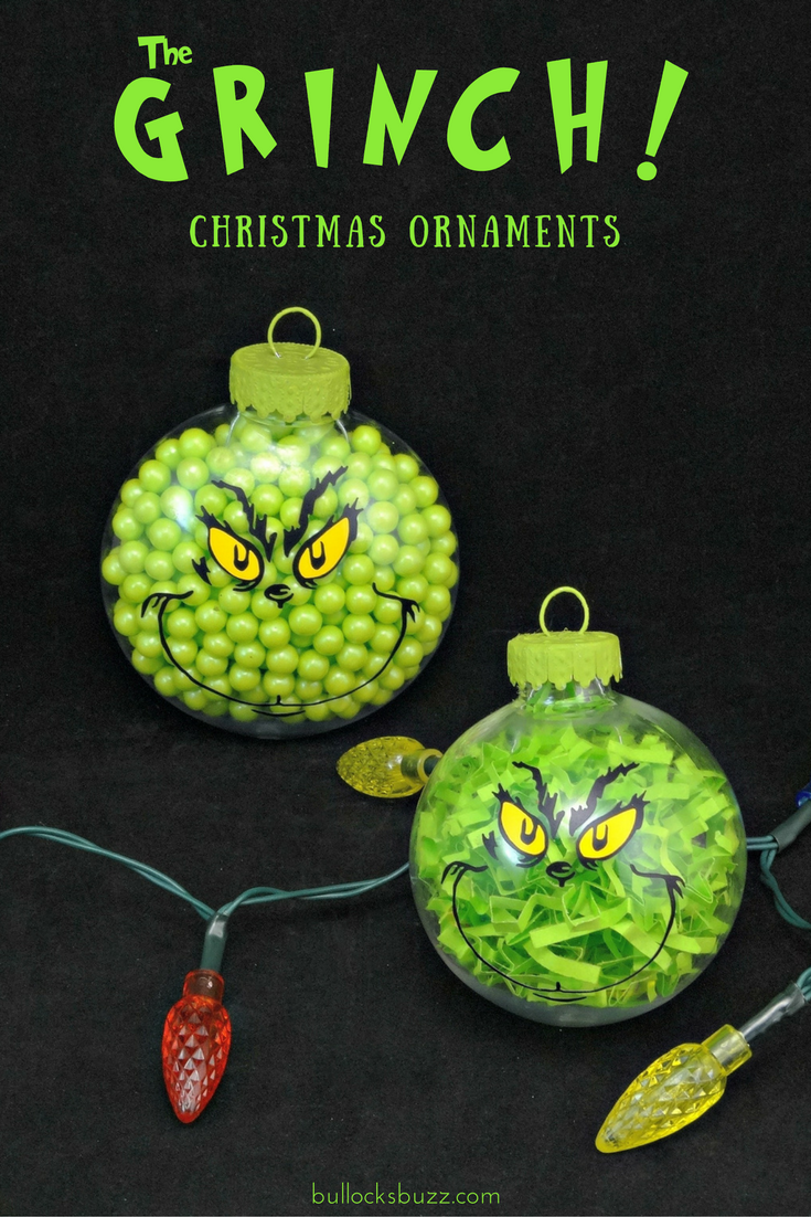 Two Diy Grinch Christmas Ornaments Grinch Christmas Party Grinch Christmas Grinch Christmas Decorations