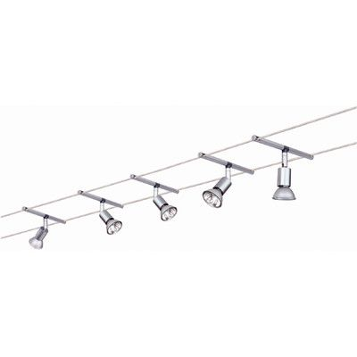 paulmann wire 12v 5 light track spice salt 105 complete systems set wayfair uk