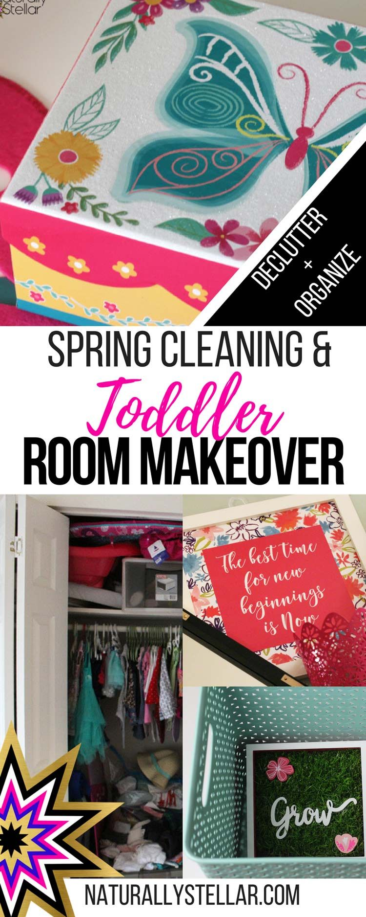 Toddler Room Makeover and Major Spring Cleaning - Part 1 images