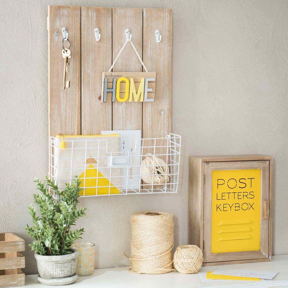 deco maison du monde jaune. Black Bedroom Furniture Sets. Home Design Ideas