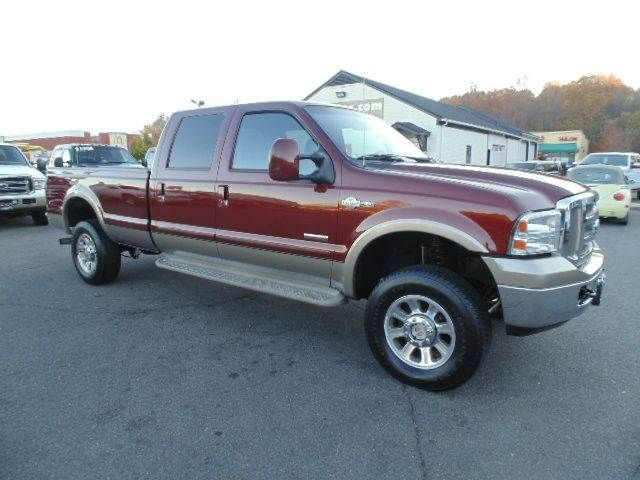 Cars WWWEMAUTOSCOM ONE OWNER 2005 Ford F 350 Super Duty King Ranch