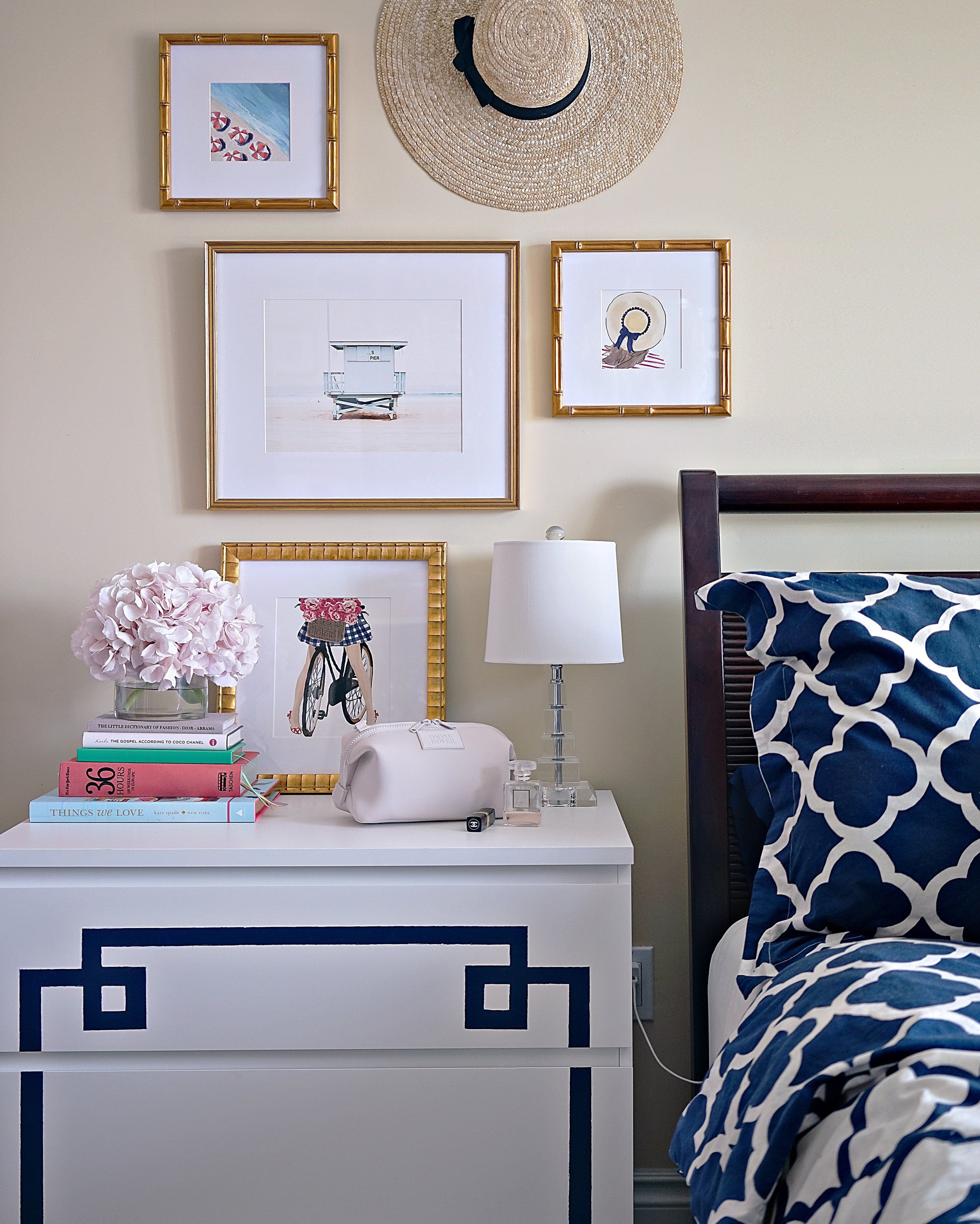 Master bedroom gallery wall   Vacation Vignettes with Bree Madden Photography  Gallery wall