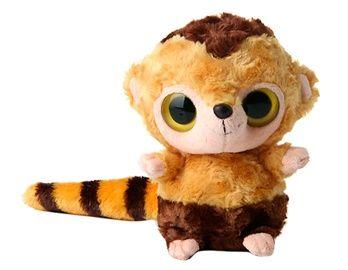 YooHoo & Friends 21cm Wide-Eyed Plush Long Tail Fox (Yellow)