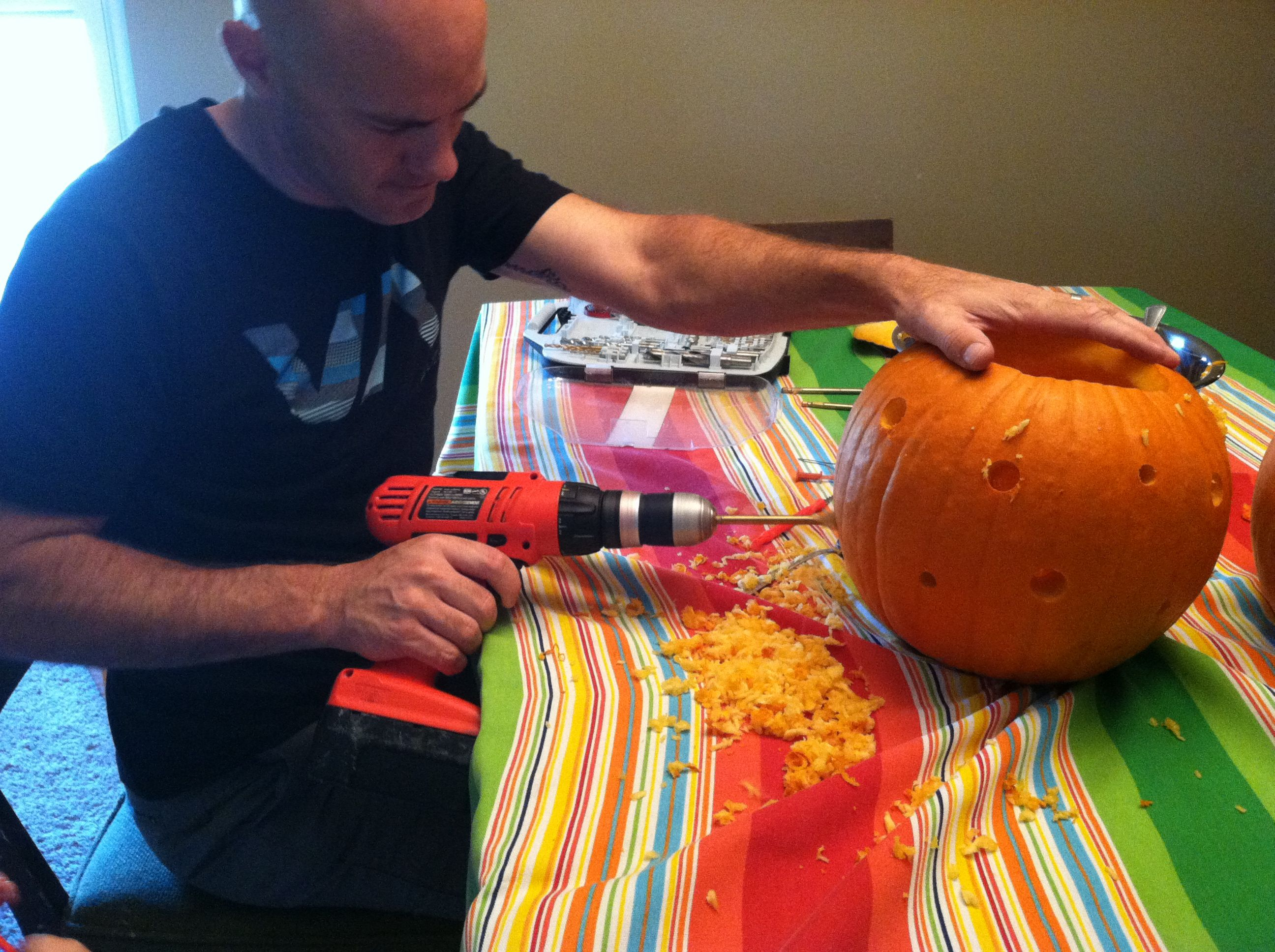 Forget The Knife Use Power Tools To Carve Your Halloween Pumpkin Pumpkin Carving Pumpkin Halloween Pumpkins