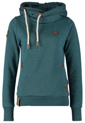 Naketano Sudadera - deep blue green melange