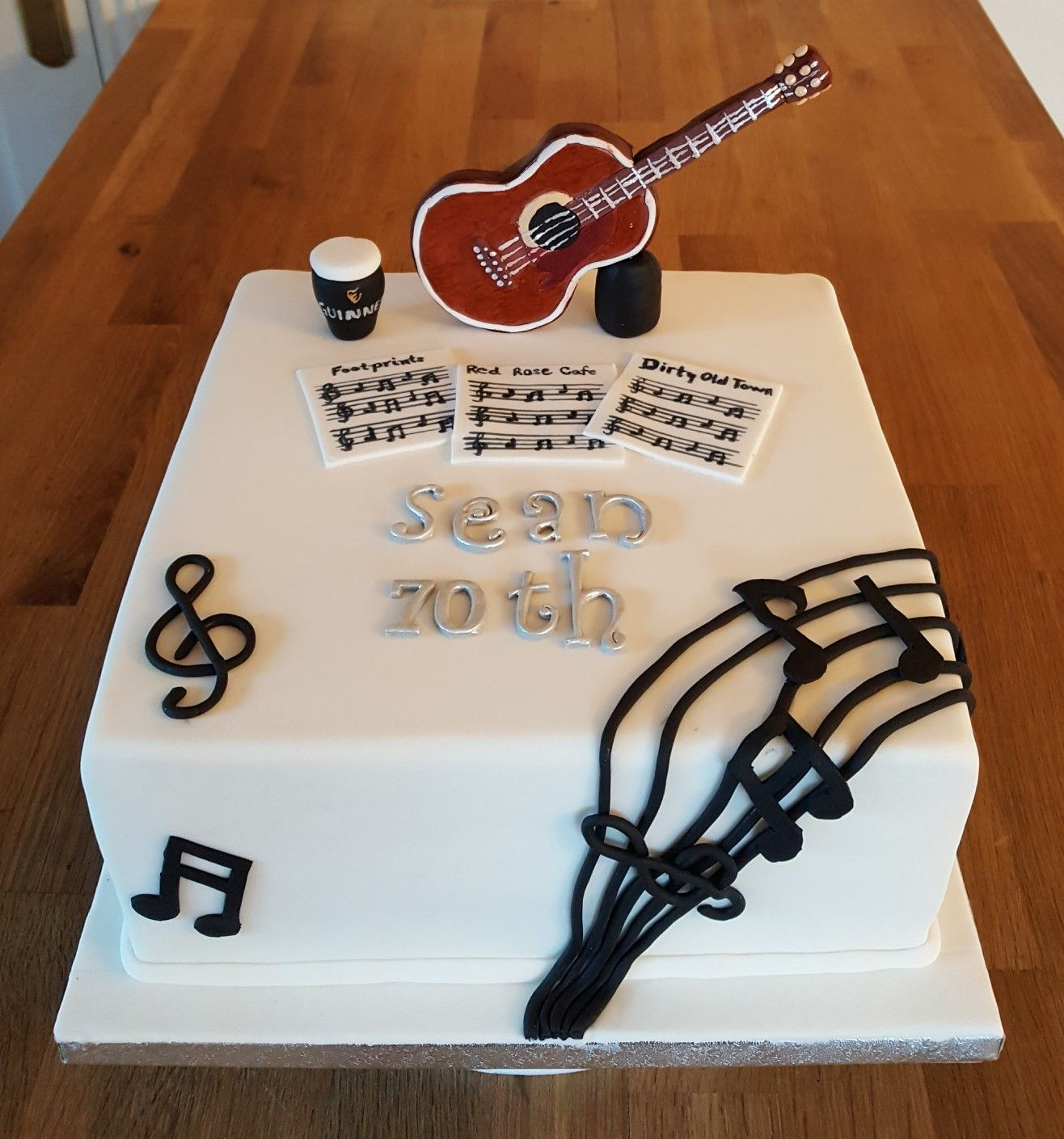 Cakes For 70th Birthday Easy To Advanced Ideas For 2021