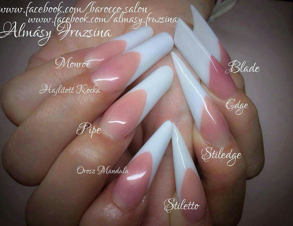 french manicure 3. double team