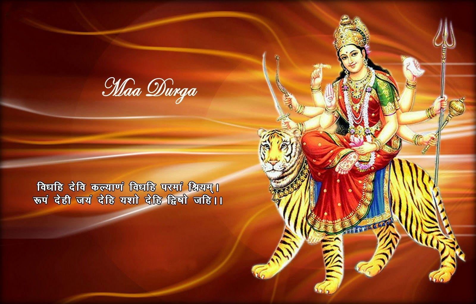 Maa Durga Hd Wallpaper Durga Maa Photo Images Krishna Wallpaper Happy Navratri Images Navratri Images Navratri Wishes