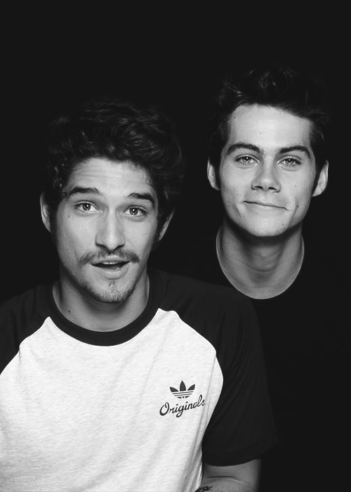 Dylan O'Brien and Tyler Posey