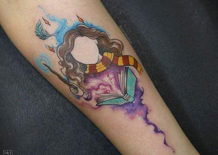 20 wonderful colorful tattoos will bright your mind