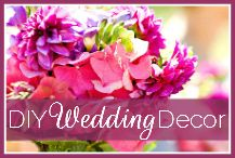Kim caswells diy wedding decor collections make any of these make any of these designs yourself with kims diy decorating templates included in the dream wedding decor blueprint junglespirit Images