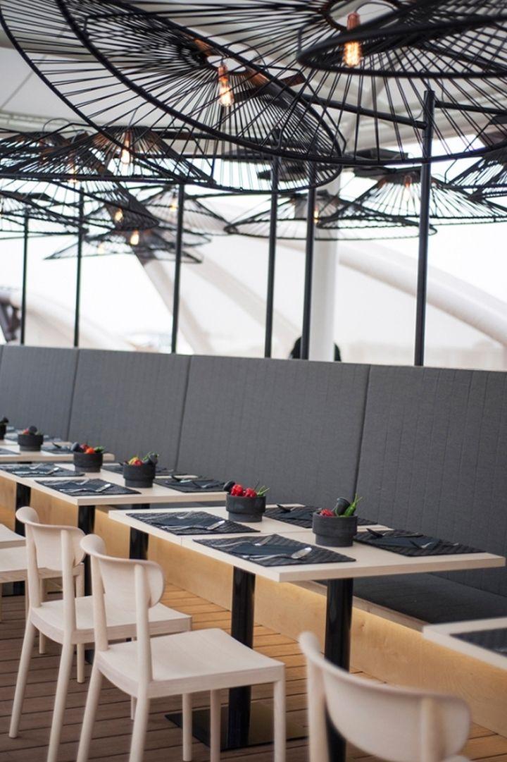 besame mucho restaurant lighting by ricardo casas design at milan expo