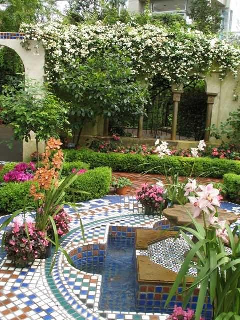 الحدائق العربية في الأندلس Moorish Gardens Moroccan Garden
