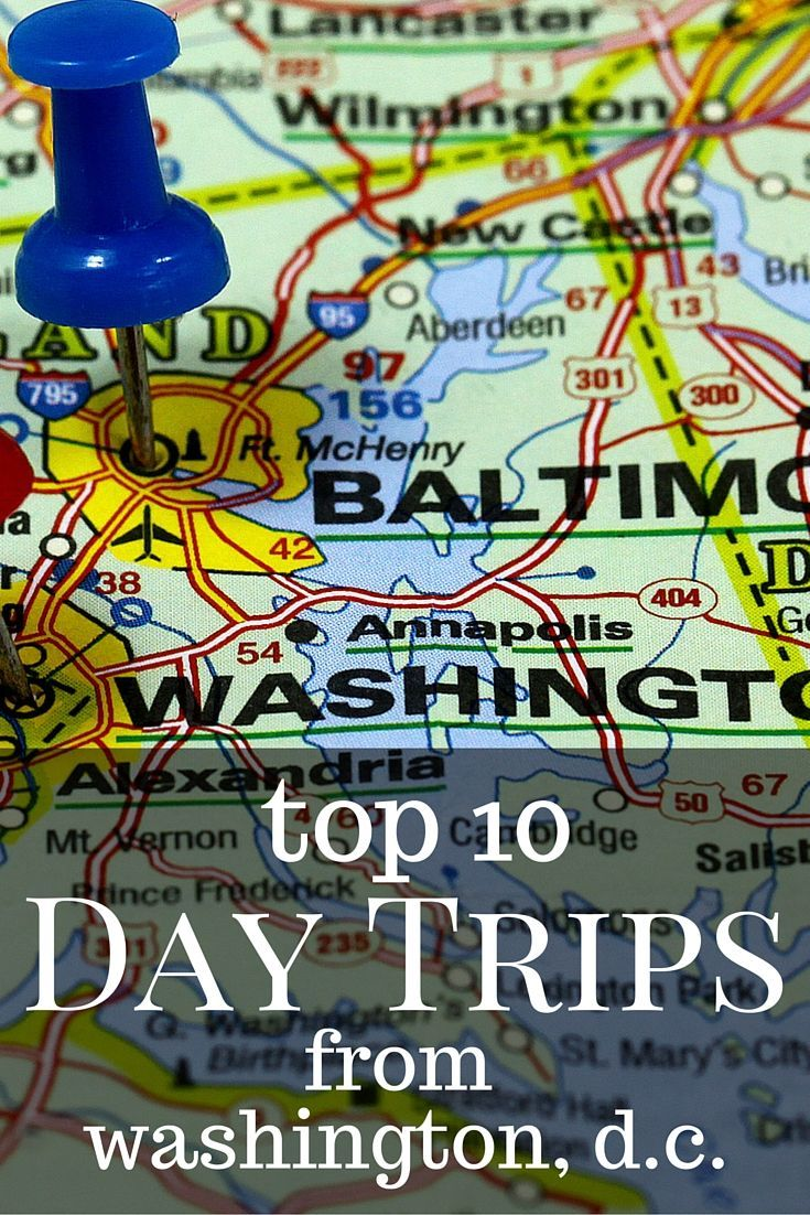 The Best Day Trips From Washington DC For Families