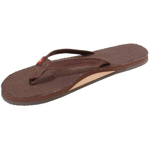 15597c54bb20 Rainbow Hemp Eco 301 Narrow Strap Sandal Womens Brown L     To view further  for this item