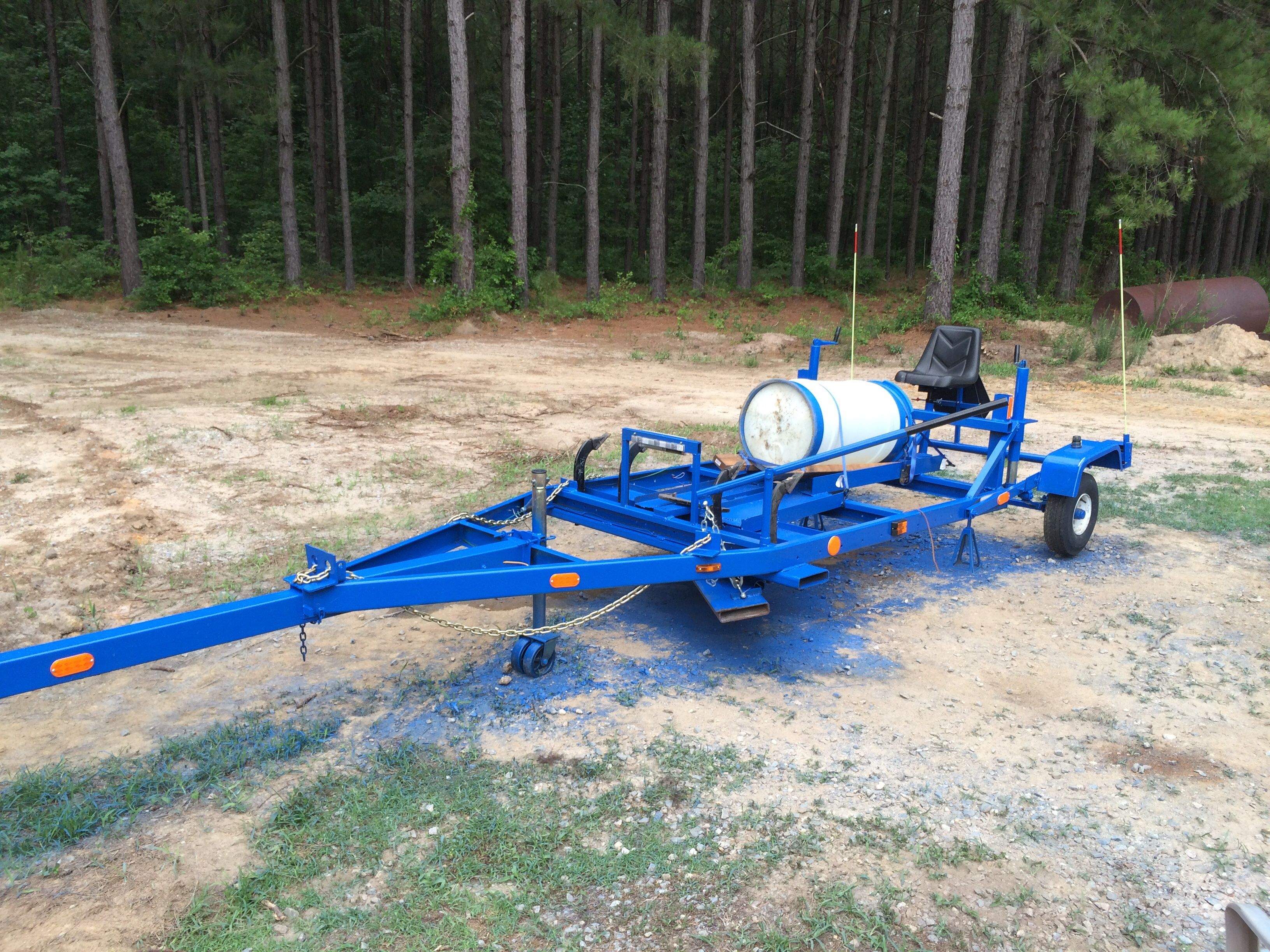Tractor Pull Boats : Homemade motor grader made from a second hand boat