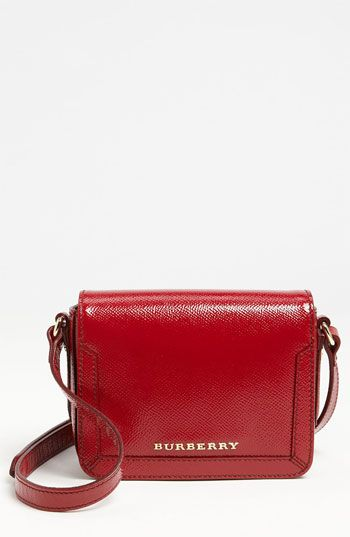 Burberry  'Ladies London' Leather Crossbody Bag