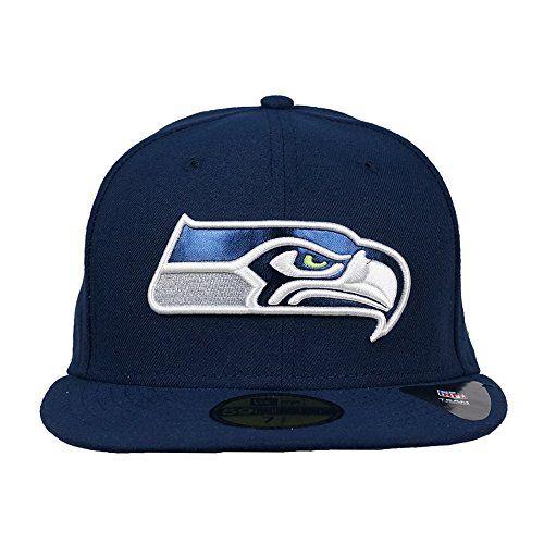 f69376234fb New Era NFL Metal Fit 5950 Fitted Hat (Seahawks
