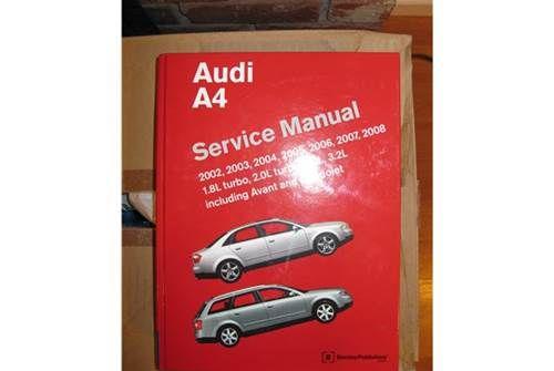 For Sale Audi A4 B6 B7 Bentley Service Manual Audi A4 Audi Bentley