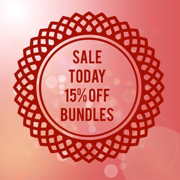 Welcome to my Closet! 15% off Bundles! TODAY ONLY Welcome to my closet! I offer you great quality and affordable prices. I refuse to be expensive. I know how hard we all work for our money. I use the same concept in my own boutique! I want to sell my items & not be dusting them off because they are too expensive. Thank you for your support. Love the compliments I get and I'm sincerely grateful. I'm basically running closet and store alone so bare with me. (I only list shoe pics to style so…