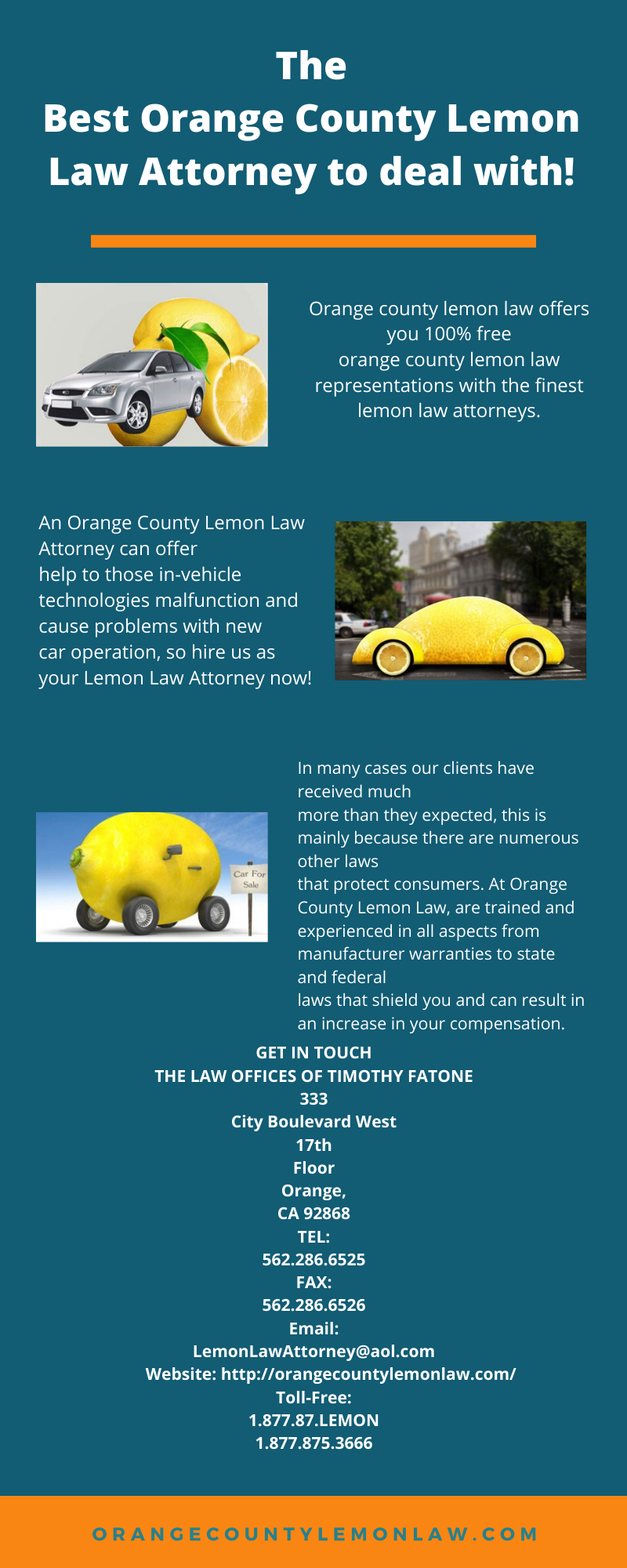 The Best Orange County Lemon Law Attorney To Deal With Lemon Law Attorney At Law Orange County