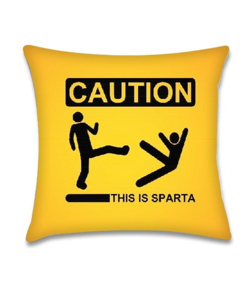 Almofada Caution!