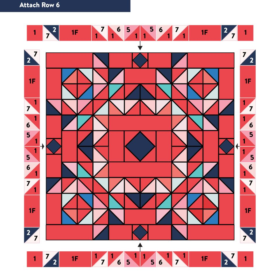 2019 Bom Seattle Modern Quilt Guild In 2020 Mystery Quilt Quilt Guild Modern Quilts