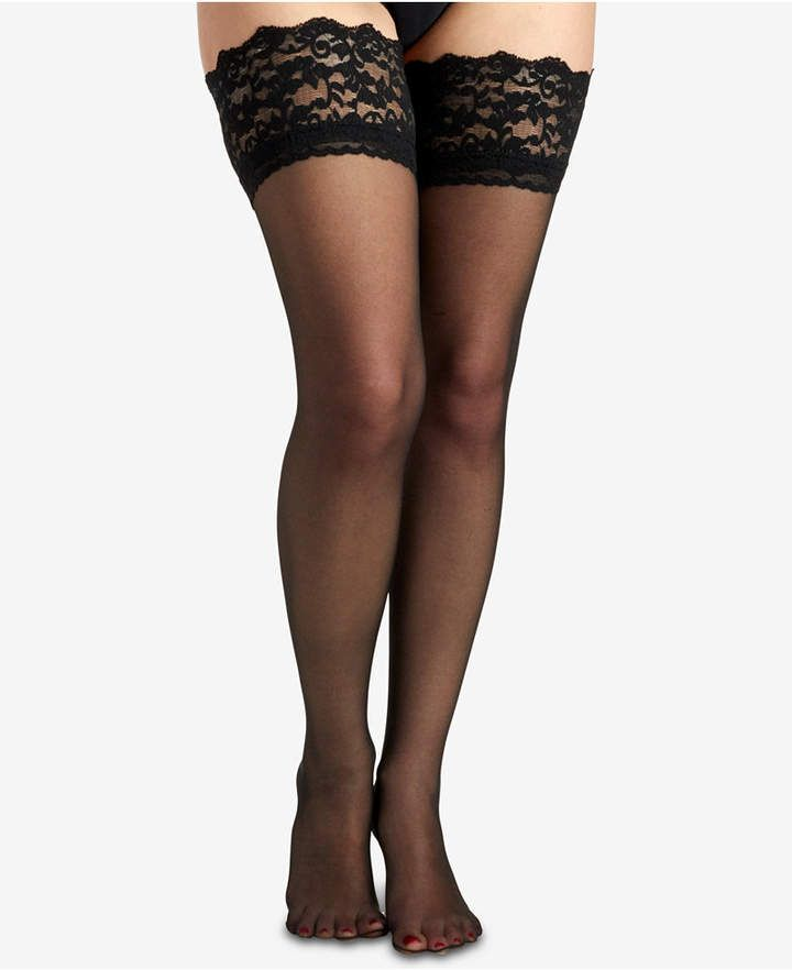 5cc9215e368ac Berkshire Women French Lace Top Thigh High Hosiery 1363 in 2019 ...