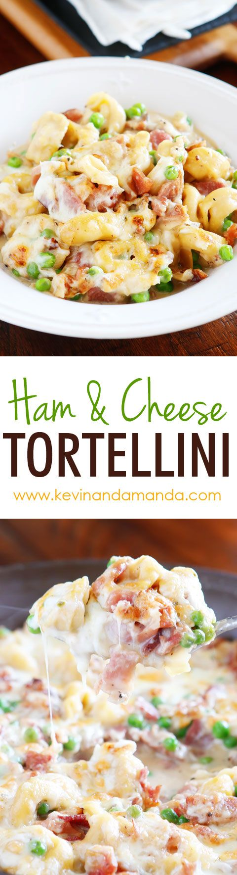 A delicious cheese tortellini recipe with garlic butter sauce. You can use frozen tortellini. Only