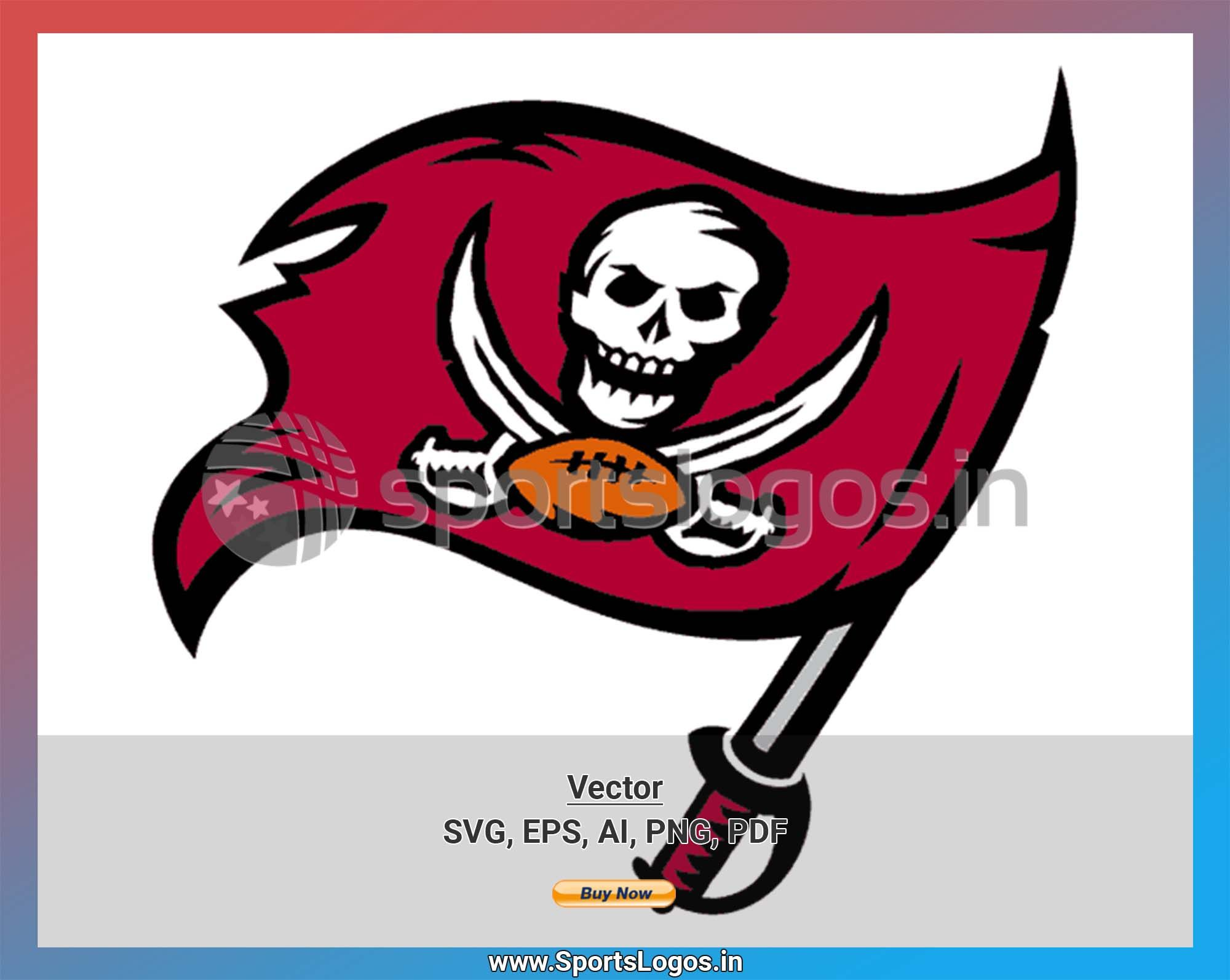 Tampa Bay Buccaneers Football Sports Vector Svg Logo In 5 Formats Spln004324 Sports Logos Embroidery Vector For Nfl Nba Nhl Mlb Milb And More In 2020