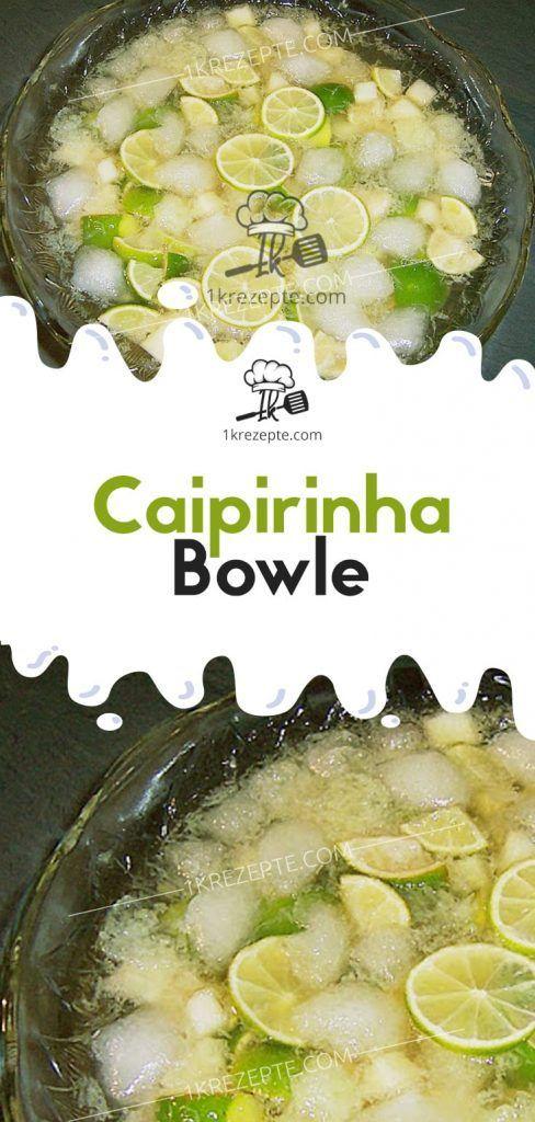 , Caipirinha Bowle – #Bowle #Caipirinha #einfache, MySummer Combin Blog, MySummer Combin Blog