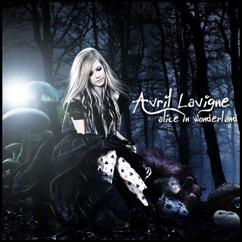 Avril Lavigne Alice In Wonderland Avril Lavigne Alice In Wonderland Album Art