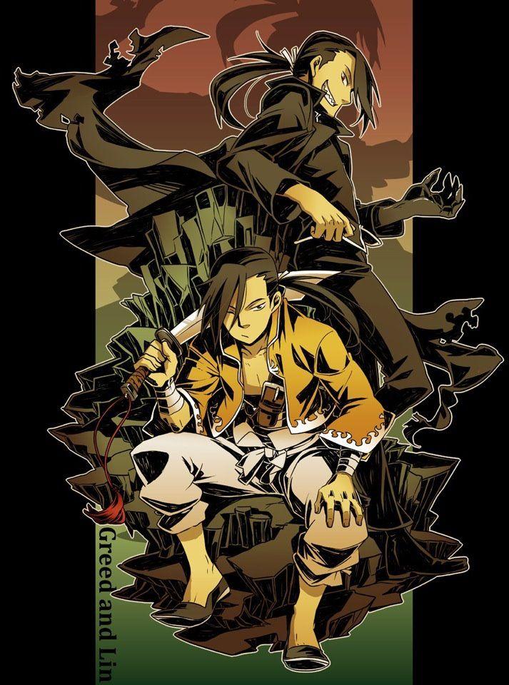 Greed/Ling | Fullmetal alchemist brotherhood, Fullmetal alchemist, Alchemist