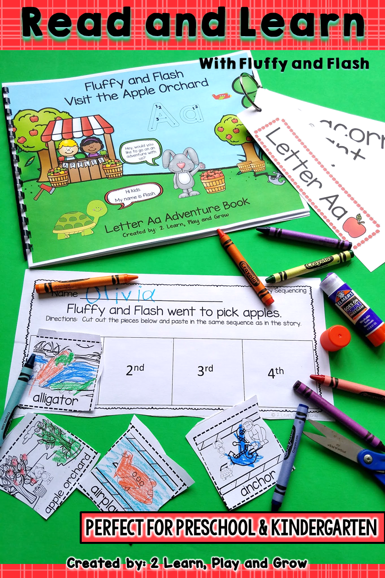Letter A Write the Room, Interactive Read Along and