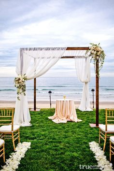 beach ceremony Indian canopy - Google Search