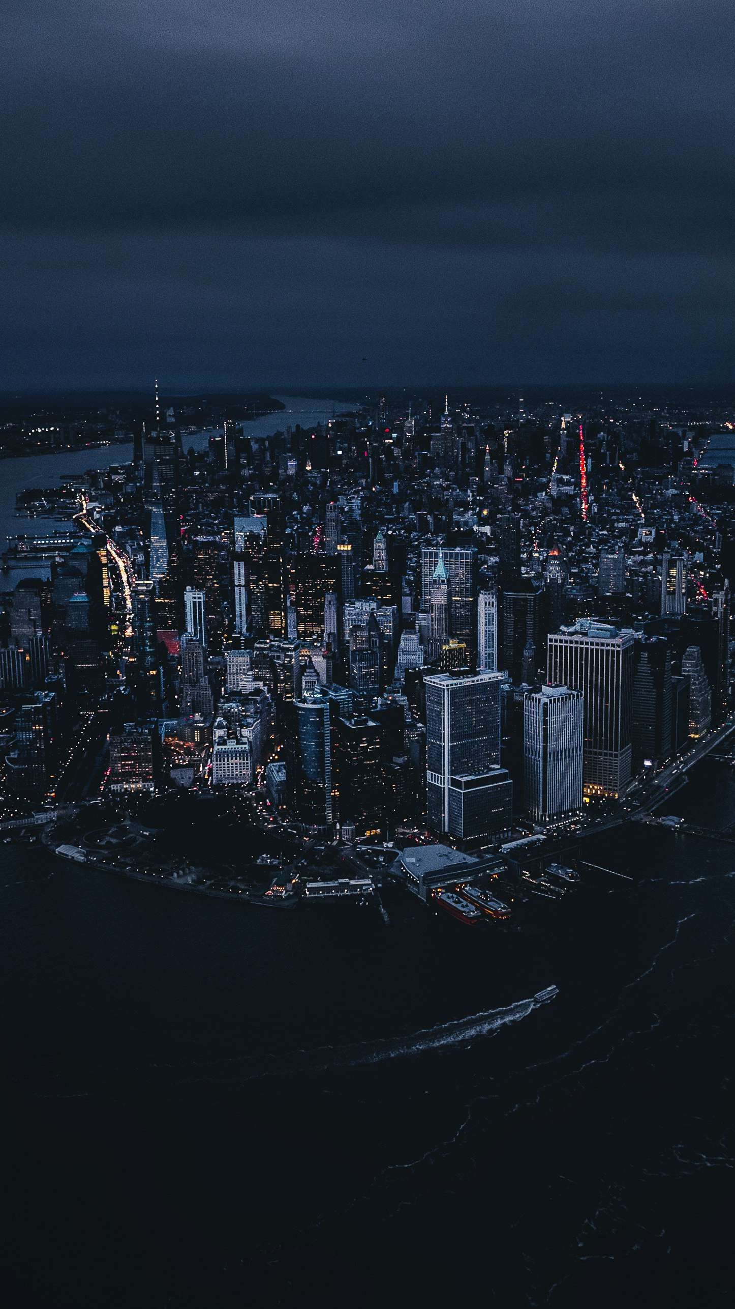New York Night Wallpaper City wallpaper, City aesthetic