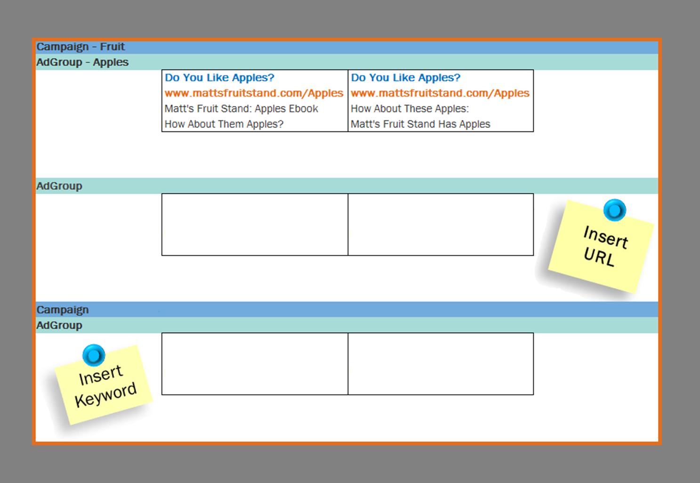 Free Template: Managing & Organizing Google AdWords