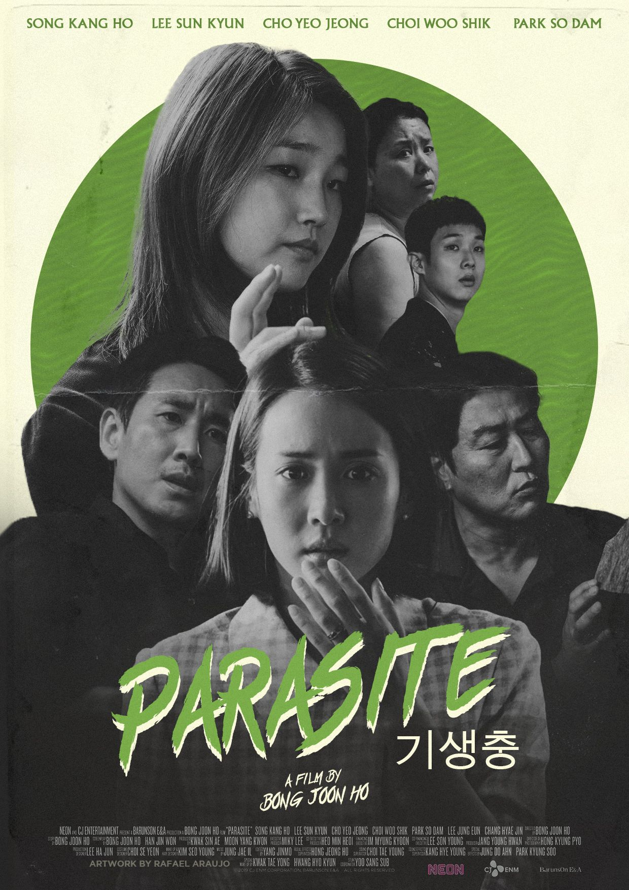 PARASITE (2019) VHS Cover by amazing-zuckonit on DeviantArt