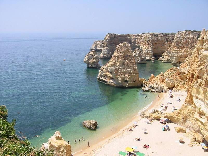 Faro, Algave region, Portugal.