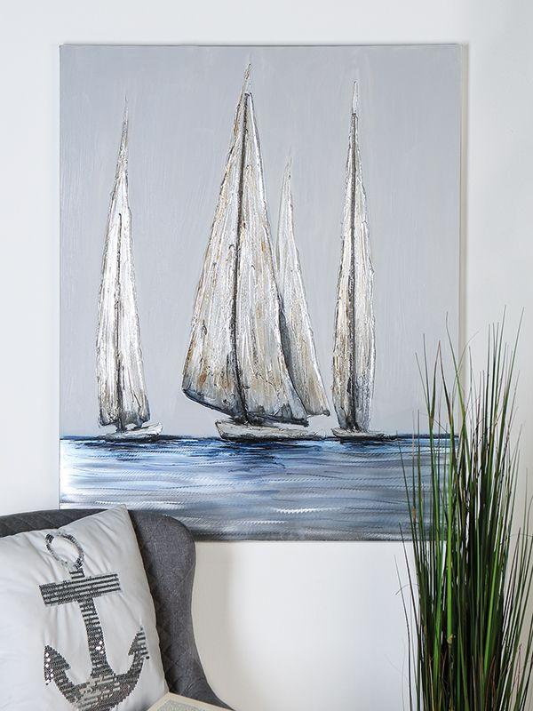 Leinwand - Sailing #selbstgemachteleinwandkunst