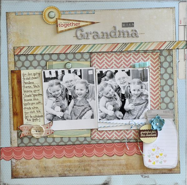 Layout: So Happy Together with Grandma ~Elle's Studio~