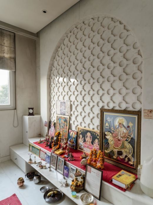 Drawing Room Sofa Designs India: Pooja Room Designs For Indian Homes #IndianHomeDecor
