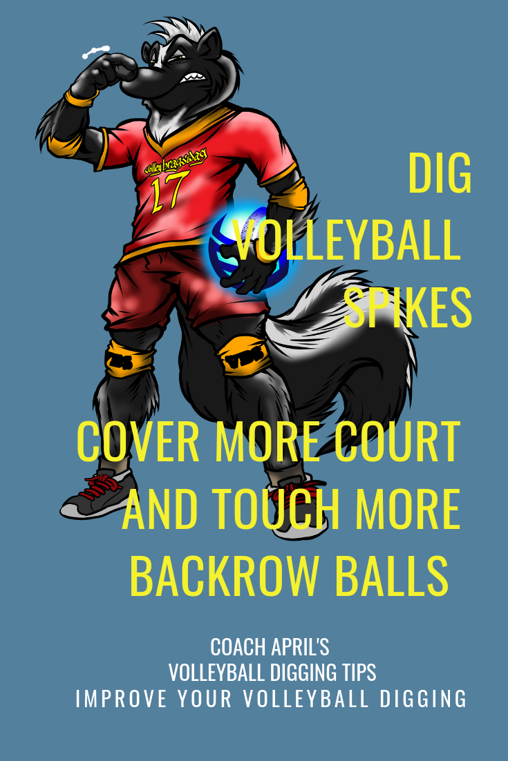 Dig Volleyball Spikes Cover More Court And Touch More Backrow Balls Volleyball Dig Volleyball Volleyball Skills