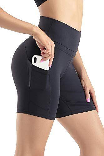 cyclisme Short de cyclisme actif Stretch Pour yoga Leggings courts pour femme